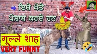 गूल्ले शाह || GHULLE SHAH || NEW COMEDY || S FIGHTER STUDIO