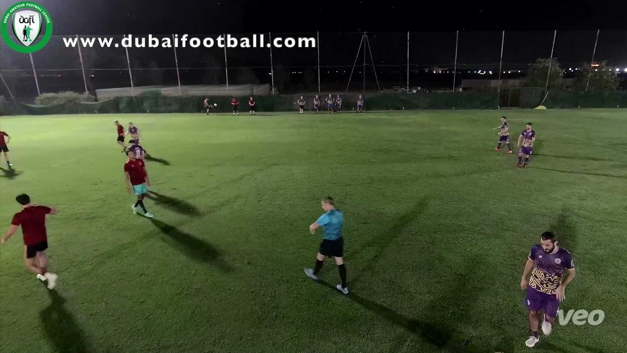 Dubai Wings vs DubaiFinest - DAFL Spring 7 a side. European Cup www.dubaifootball.com