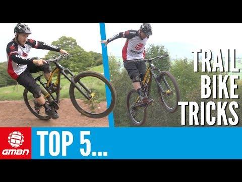 5 Beginner Tricks To Learn On Your Trail Bike | Mountain Bike Tricks
