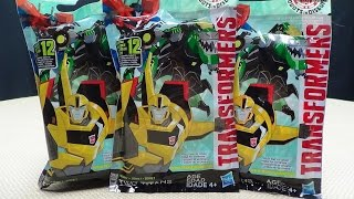 Robots in Disguise 2015 TINY TITANS: EmGo's Transformers Reviews N' Stuff