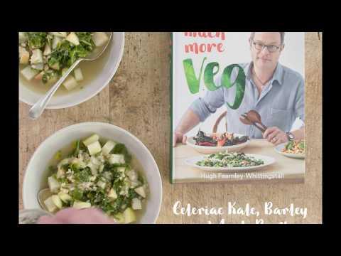 Celeriac, Kale, Barley And Apple Broth