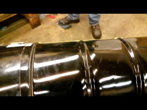 How to build 55 gallon drum bbq (part 1)