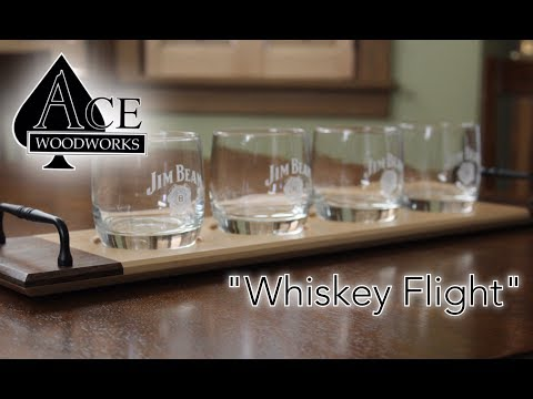 Ace Woodworks- Whiskey Flight