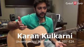 Karan Kulkarni plays popular pop chords || converSAtions | SudeepAudio.com