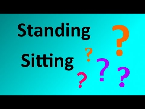 Standing or Sitting Desk? Wrong Question.
