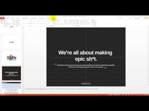 Change Your Logo in PowerPoint Template