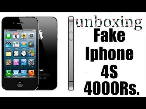 Unboxing Fake Iphone 4S 4000Rs. (Iphone 4S at Only 4000Rs.)