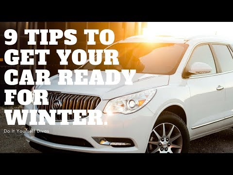 9 Tips To Get Your Car Ready For Winter