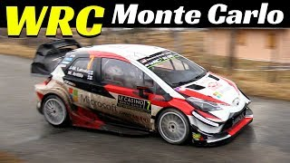 WRC Rally Monte Carlo 2018 - Day 3 - Special Stage Saint Lèger les Mèlèzes/La Bàtie Highlights!