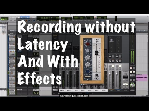 Recording Without Latency And With Effects