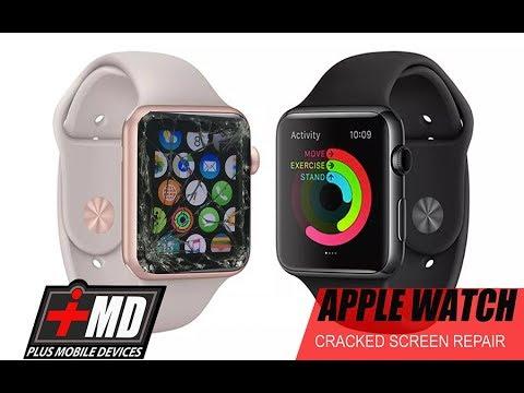 Apple Watch Cracked Screen Repair