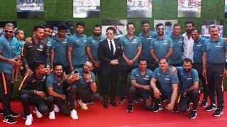 Indian Cricket Team At Special Screening Of Film Sachin A Billion Dreams