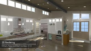 Chief Architect X10 New Features – 3D Rendering
