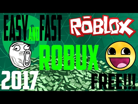 How to get FREE ROBUX easy and fast in roblox 2017 (SKIT)