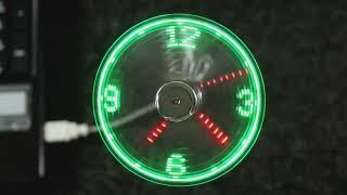 #x202b;שעון מאוורר Led#x202c;lrm;