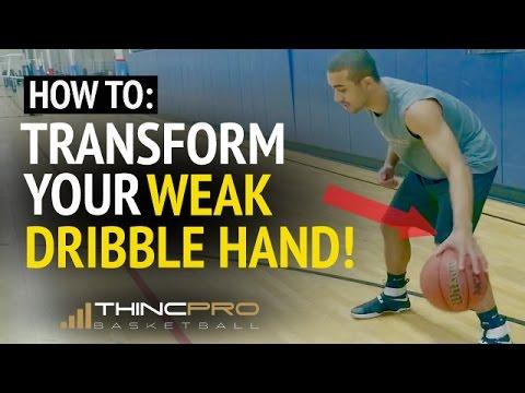 How to: Improve Your Weak Hand Dribbling! (MUST SEE - Weak Hand Basketball Dribbling Drills)