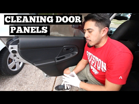 Cleaning Door Panels- Interior Car Cleaning Tips