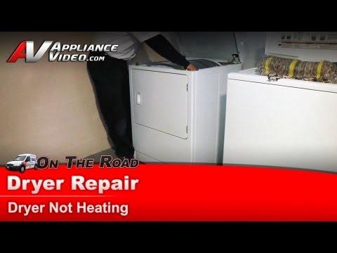 Dryer Repair - Not heating - Repair & Diagnostic-Maytag,Whirlpool,Sears,Kenmore,Roper - MDG4806AWW