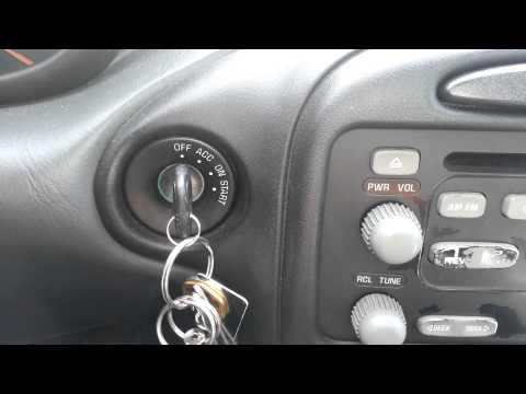 Pontiac Won't Start - How to Reset Pontiac Grand AM Security Light - **Temporary Fix**