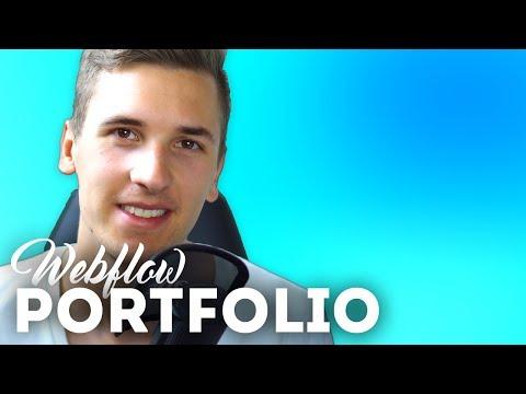 Main Portfolio & Background Blur • Webflow Tutorial