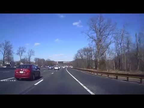 Driving around in New Jersey