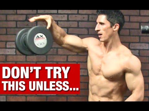 Get Wider Shoulders Fast (ADVANCED SHOULDER EXERCISE!!)