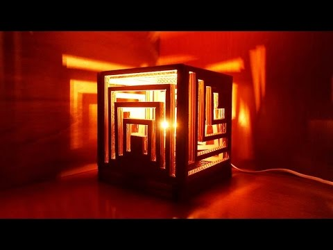 How To Make a Multifaceted Cardboard Lamp - DIY Home Tutorial - Guidecentral