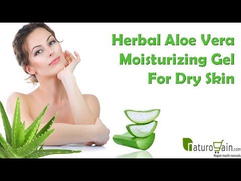Herbal Aloe Vera Moisturizing Gel For Dry Skin