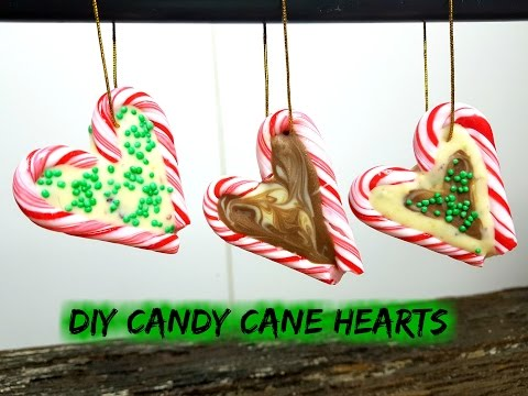 DIY CANDY CANE HEARTS - CookingwithKarma