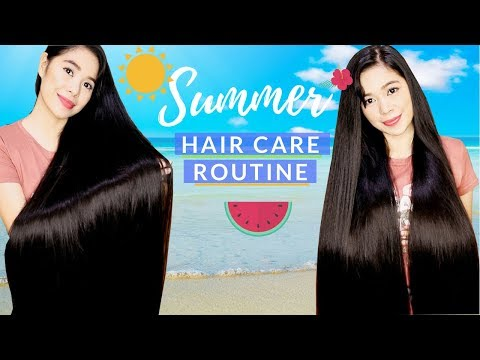 My Summer Weekly Hair Care Routine & What I Use in Between Washes-Beautyklove