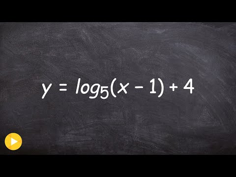 Given transformations find the vertical asymptote, domain and x intercepts