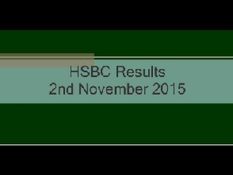 HSBC Nov Q3 Results - Interview with CSS Head Analyst Ravi Lockyer