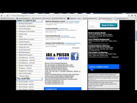 San Diego Jail - Who is in Jail in San Diego?