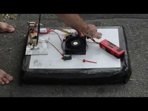 Case-Fan / Trash Bag RC Hovercraft