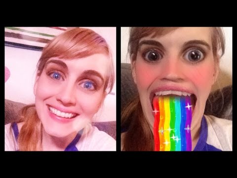 How to do rainbow mouth and new effects on Snapchat!