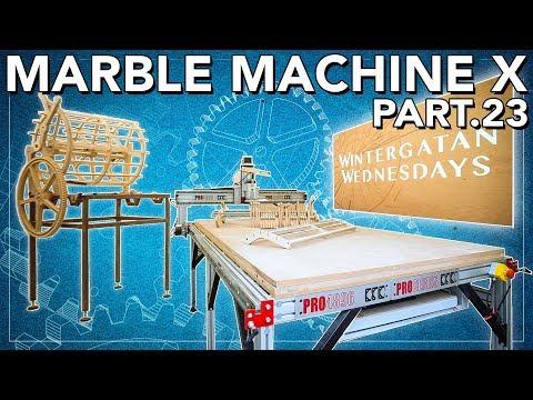 Marble Machine X part 23 - DREAM WORKSHOP BUILD