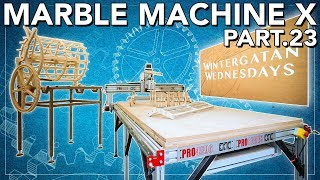 Marble Machine X part 23 - DREAM WORKSHOP BUILD