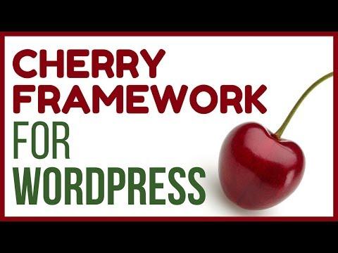 CHERRY Framework Review -  Template Monster's Framework for WordPress