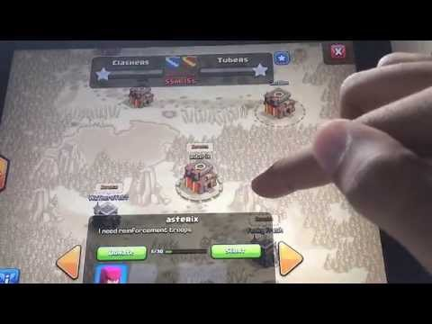 Clash of clans - CLAN WARS (preparation day)
