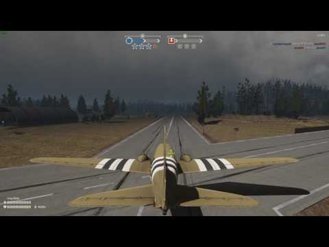 Fly the para plane (Heroes&General)