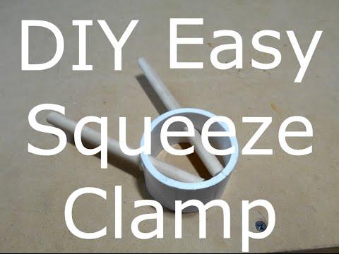 Easy DIY Squeeze Clamp