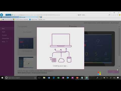 Getting Started | Setting Up a PowerApps Sandbox Environment