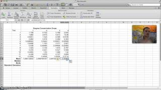 Calculating Mean Median Mode Standard Deviation In Excel