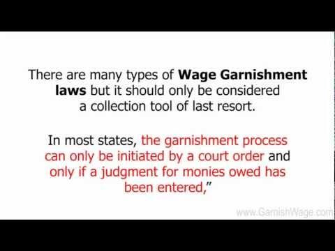 Types Of Wage Garnishment