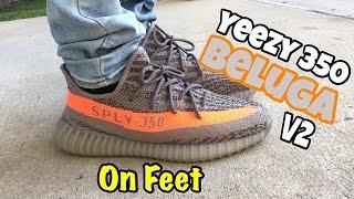 2204165b270ddf Adidas Yeezy V2 On Feet wallbank-lfc.co.uk