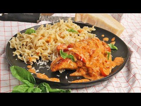 Chicken with Creamy Parmesan Sauce Recipe | Episode 1247