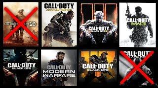 TOP 13 CALL OF DUTY Games Ranked WORST to BEST (( BLACK OPS 5 is NEXT 😉 ))