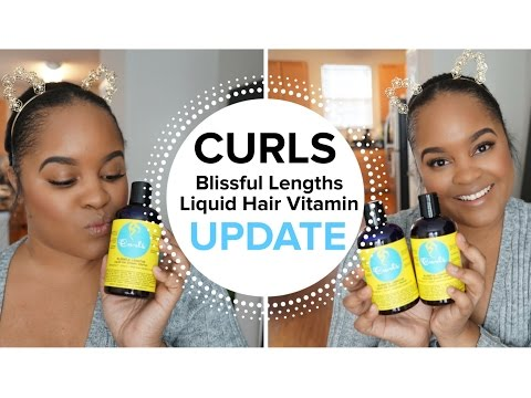 CURLS Blissful Lengths Liquid Hair Vitamin UPDATE|| 6 Bottles Later...