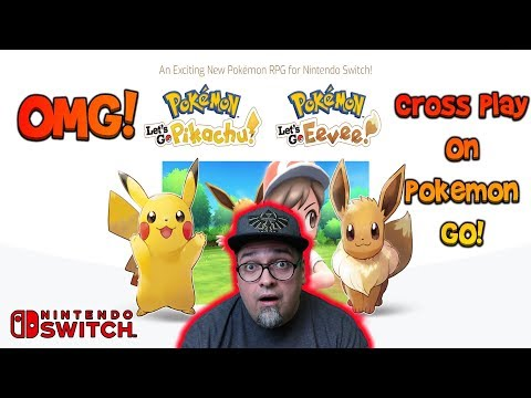 Pokemon Go & The Switch Collide! New Pokemon Game Announced! Let's Go Pikachu Eevee Reaction
