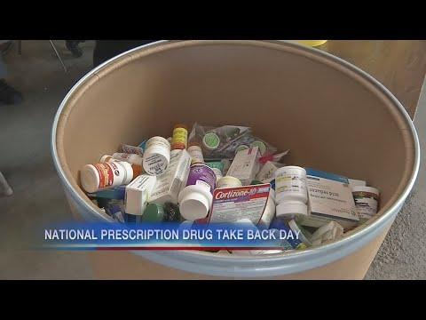 Drop off locations for unwanted prescription medication